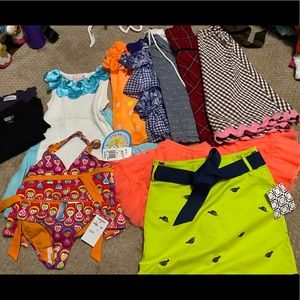 Girls Summer Clothes - Size 4-5